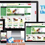 Thiết kế website bán tinh dầu dừa nhanh uy tín chuyên nghiệp