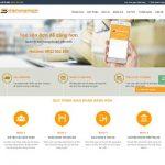 Thiết kế website vận chuyển nhanh theo yêu cầu uy tín