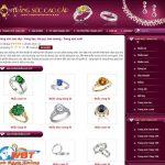 Thiết kế website bán vàng bạc đá quý sang trọng đẳng cấp nhất
