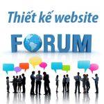Thiết kế website diễn đàn -Forum chuẩn seo chuẩn giao diện Mobile