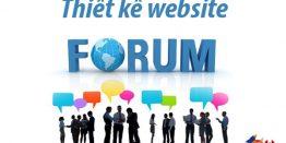 Thiet Ke Website Forum