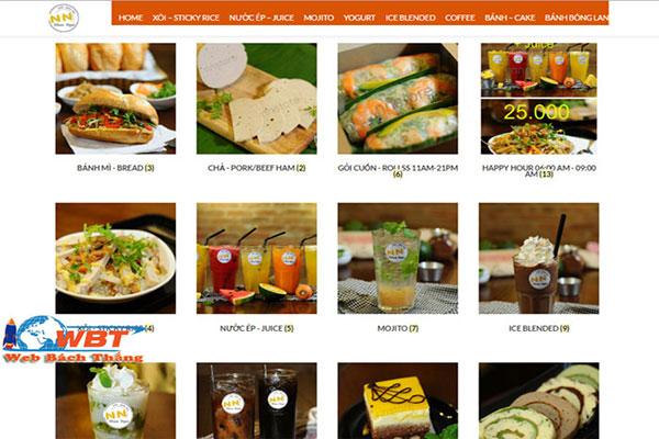 Thiết Kế Website Cửa Hàng Bánh Mì Uy Tín, Chuyên Nghiệp