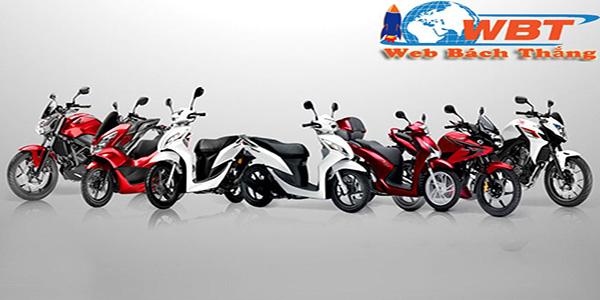 Thiết kế website bán xe máy chuyên nghiệp