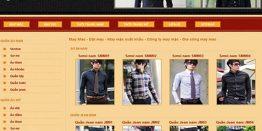 Thiết Kế Website May Mặc Chất Lượng