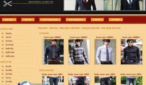 Thiết Kế Website May Mặc Giá Rẻ, Chất Lượng Cao