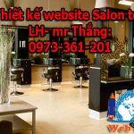 Thiết Kế Website Salon Tóc Chuẩn Seo, Chất Lượng
