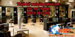 Thiết Kế Website Salon Tóc Chuyên Nghiệp