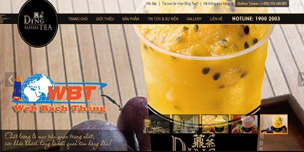 Lợi ích thiết kế website bán trà sữa
