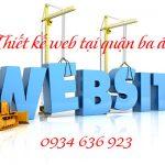 Thiết kế web tại quận Ba Đình chuẩn seo chuẩn di động
