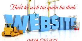 Thiết Kế Web Tại Quận Ba đình