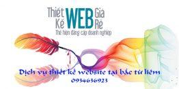 Thiết Kế Website Tại Bắc Từ Liêm