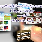 Thiết kế website tại Nam Từ Liêm chuẩn seo chuẩn di động
