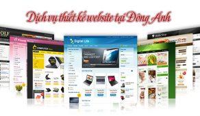 Thiết Kế Website Tại Đông Anh Chuẩn Seo Chuẩn Mobile Giá Rẻ