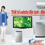 Thiết kế website điện lạnh – điện tử uy tín chuyên nghiệp