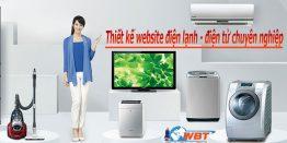 Thiết Kế Website điện Lạnh – điện Tử Chuyên Nghiệp